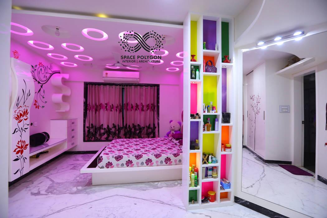Kids Bedroom Modern Bedroom by Space Polygon Modern