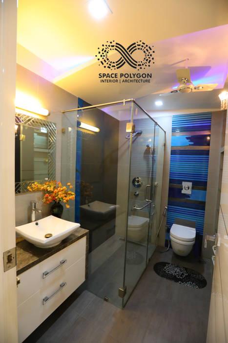Kids Bathroom Modern Bathroom by Space Polygon Modern