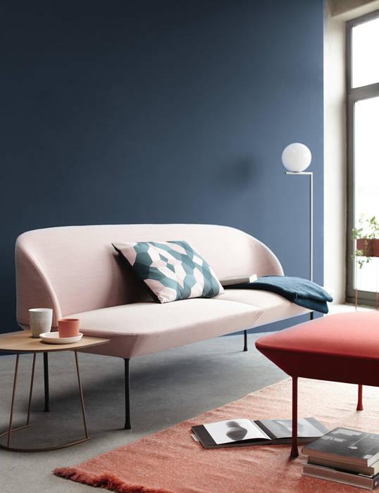 Trendfarbe blueberry moderne wohnzimmer von schöner wohnen ...