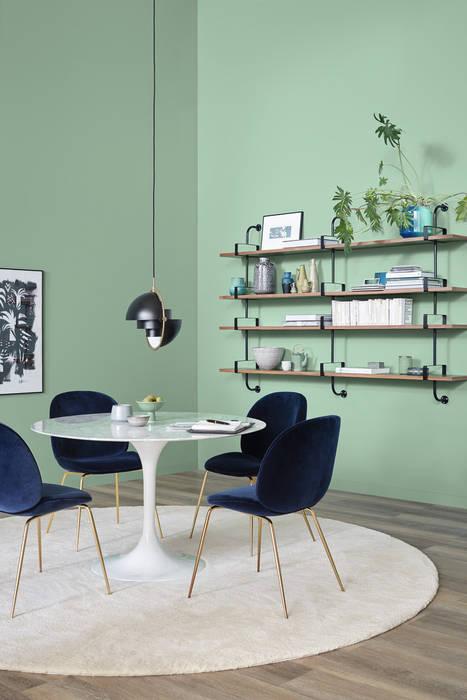 Столовые комнаты в . Автор – SCHÖNER WOHNEN-FARBE, Модерн