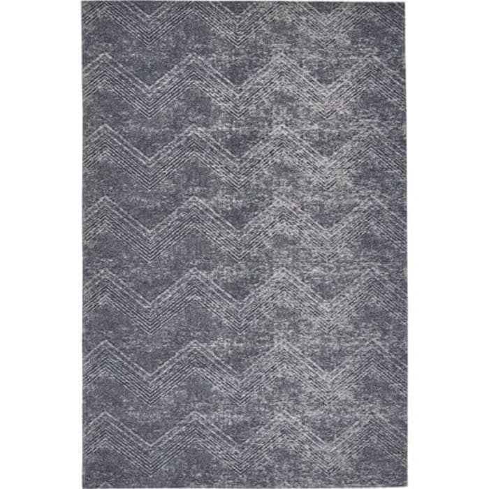 Chevron Area Rug col: Starlight:  Dining room by CKW Lifestyle
