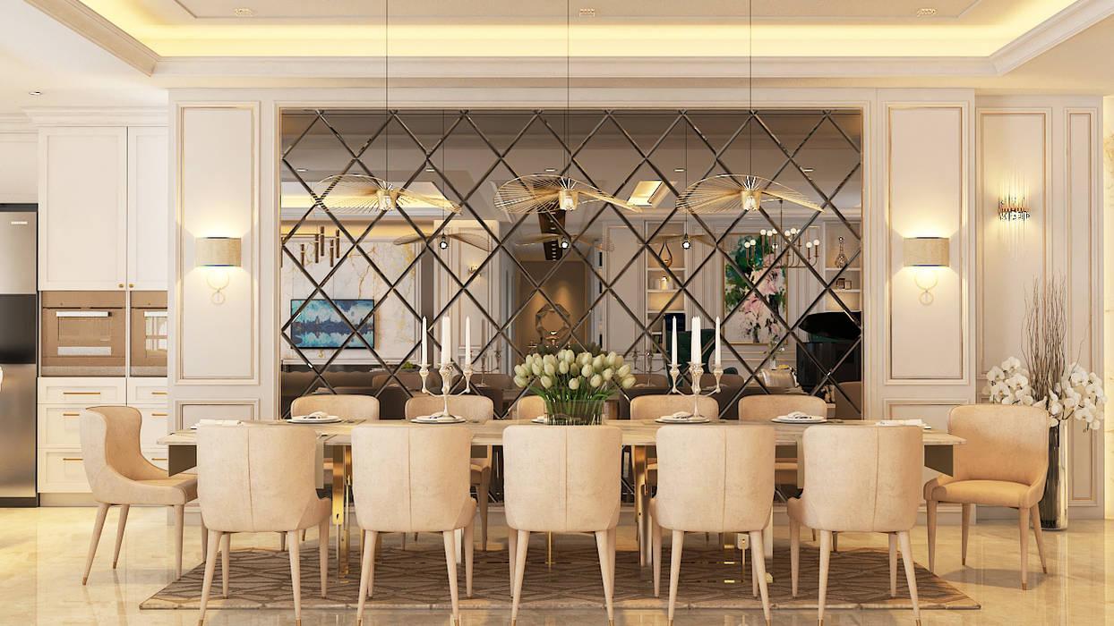 Serai Bukit Bandaraya, Bangsar:  Dining room by Norm designhaus, Classic