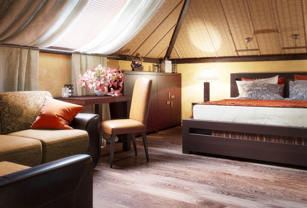 Irina Yakushina:  tarz Yatak Odası, Tropikal