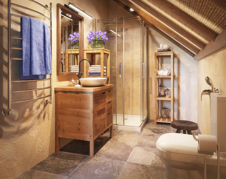 Badezimmer von Irina Yakushina