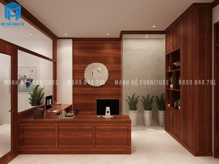 Designer bởi Công ty TNHH Nội Thất Mạnh Hệ Hiện đại Đồng / Đồng / Đồng thau