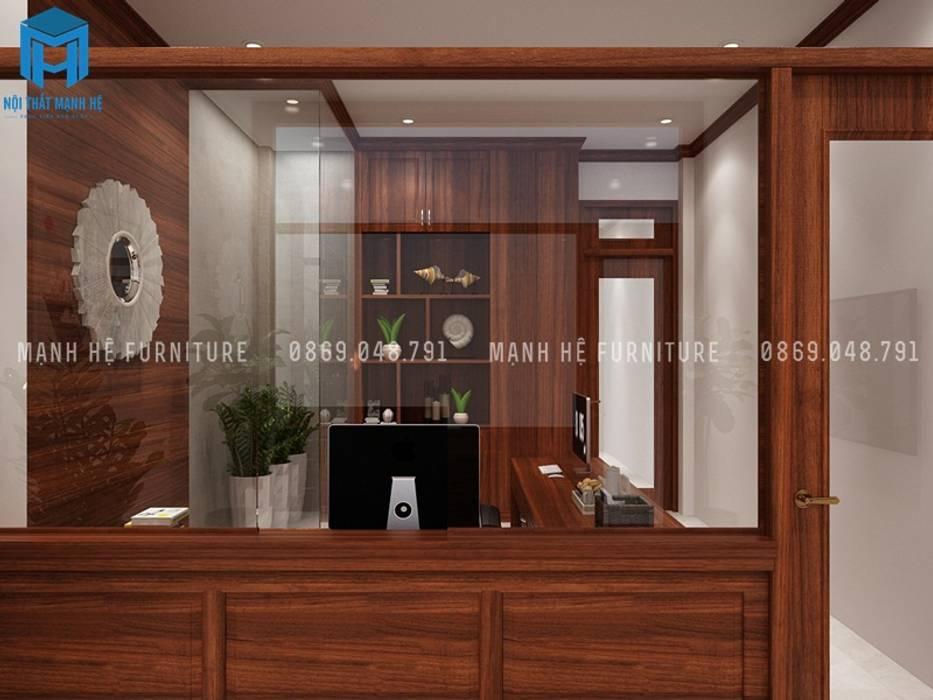 Designer:  Phòng học/Văn phòng by Công ty TNHH Nội Thất Mạnh Hệ