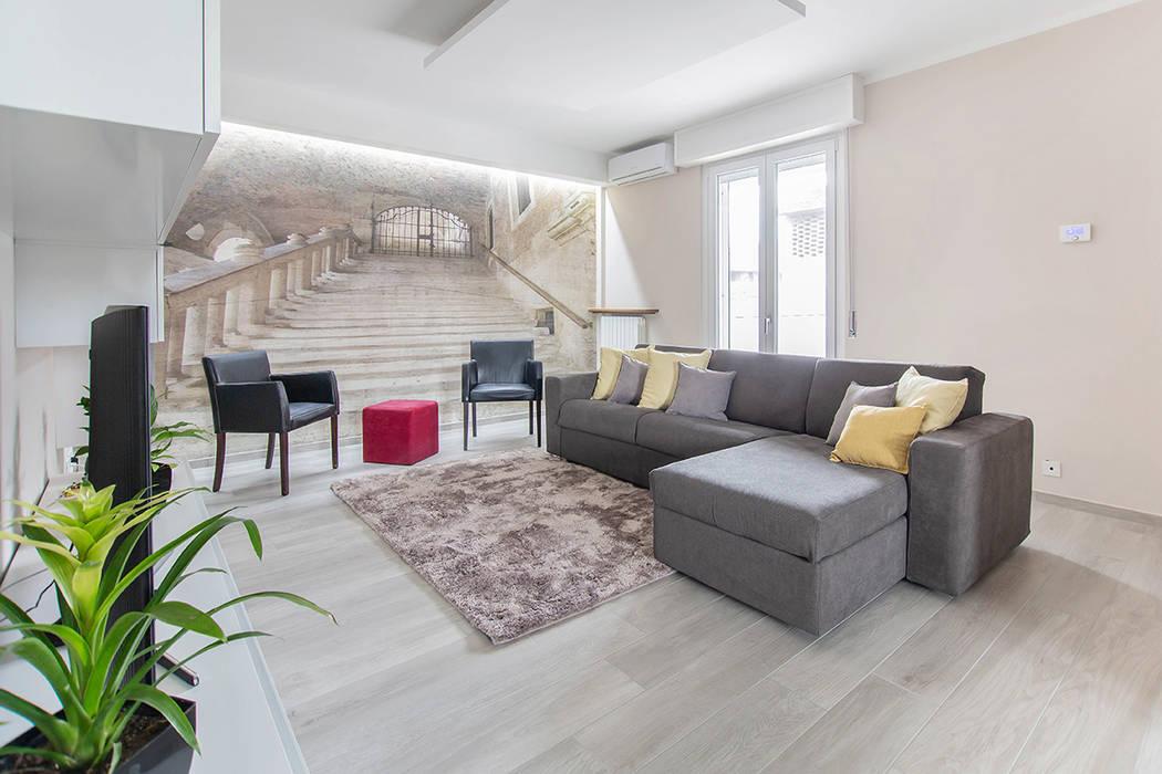 Modern Oturma Odası Facile Ristrutturare Modern