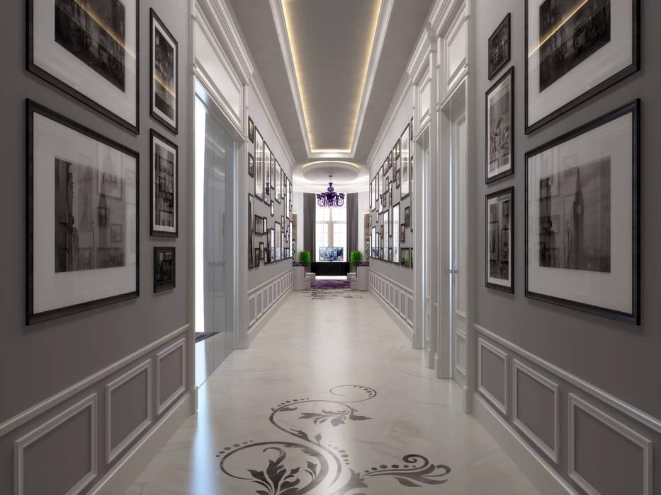 Koridor / Pearl Villa Klasik Koridor, Hol & Merdivenler Sia Moore Archıtecture Interıor Desıgn Klasik Mermer