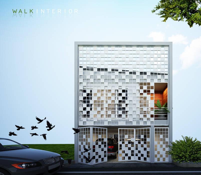 design home:  บ้านเดี่ยว โดย walkinterior , โมเดิร์น