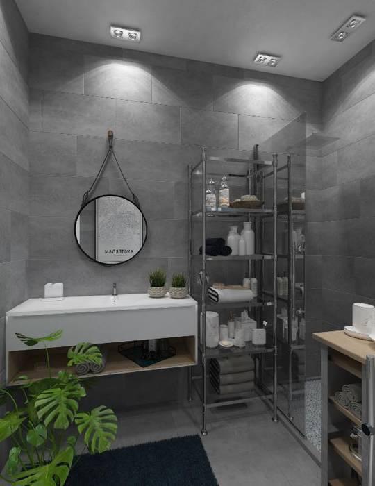 فيلا فى مدينه الشروق:  حمام تنفيذ lifestyle_interiordesign