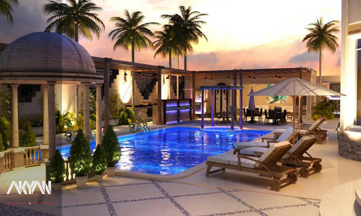 lagoon villa من AKYAN إنتقائي مزيج خشب وبلاستيك