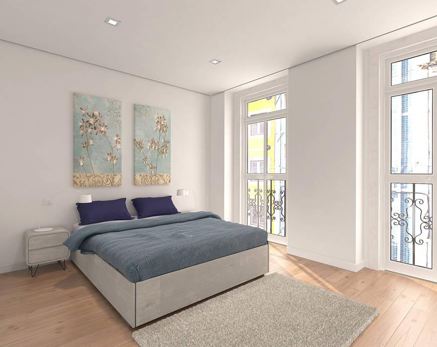 ห้องนอน โดย Lisbon Heritage, โมเดิร์น