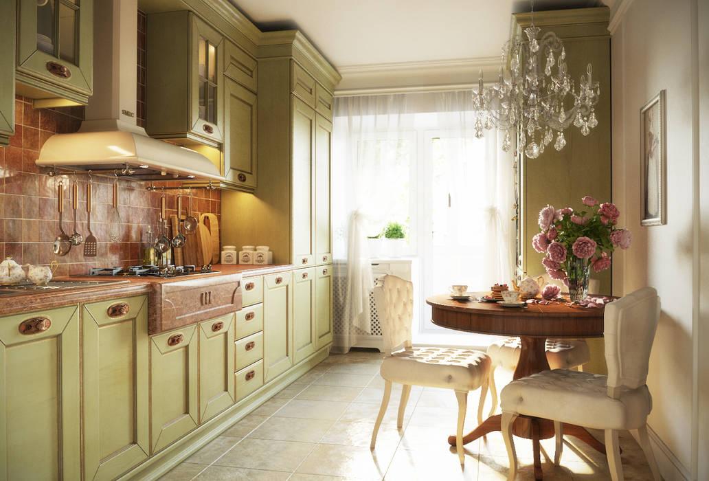 Кухня Кухня в классическом стиле от Irina Yakushina Классический
