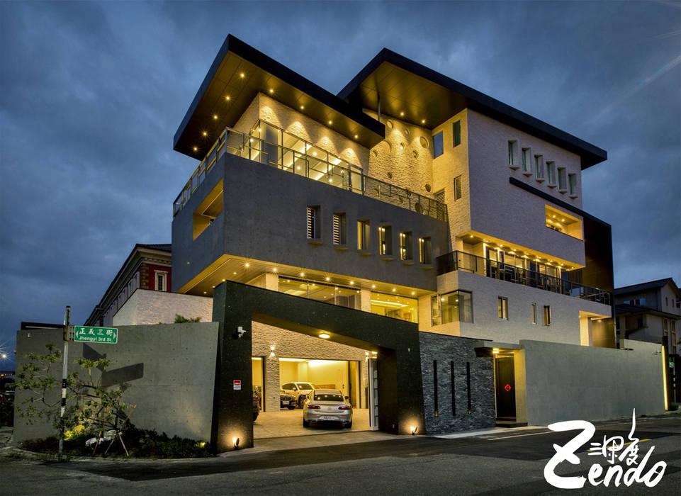 層峰:  房子 by Zendo 深度空間設計, 現代風