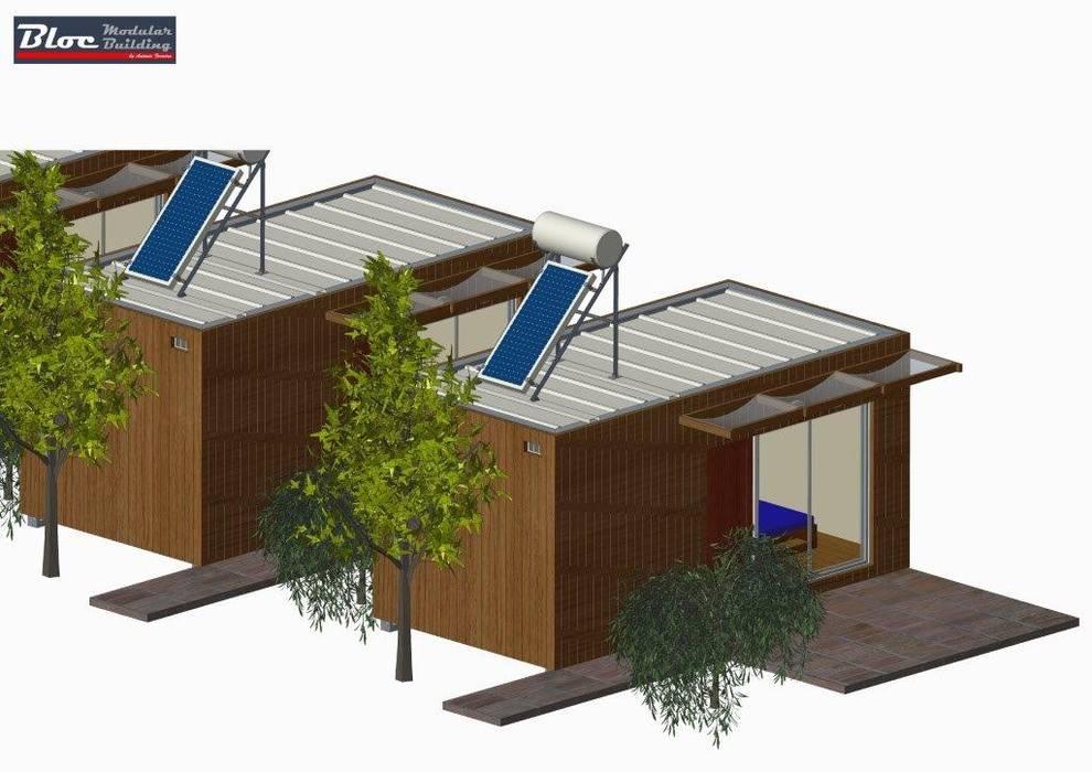 Privacidade por BLOC - Casas Modulares Moderno