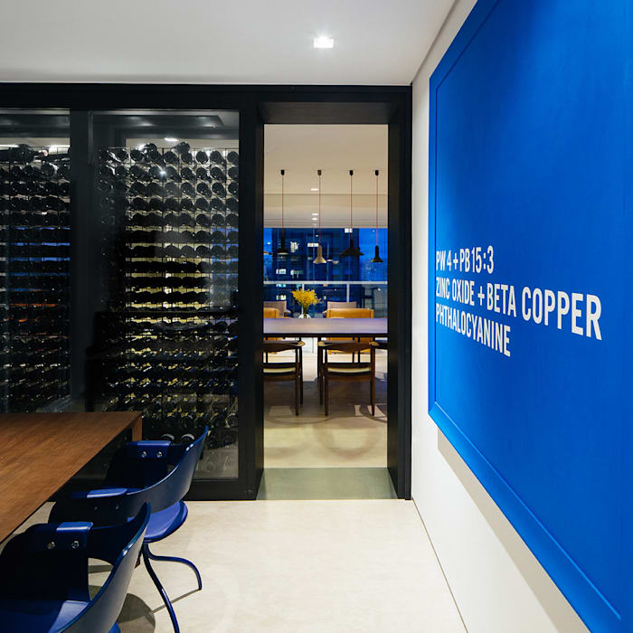 Modern Home Wine Cellar by FCstudio Modern