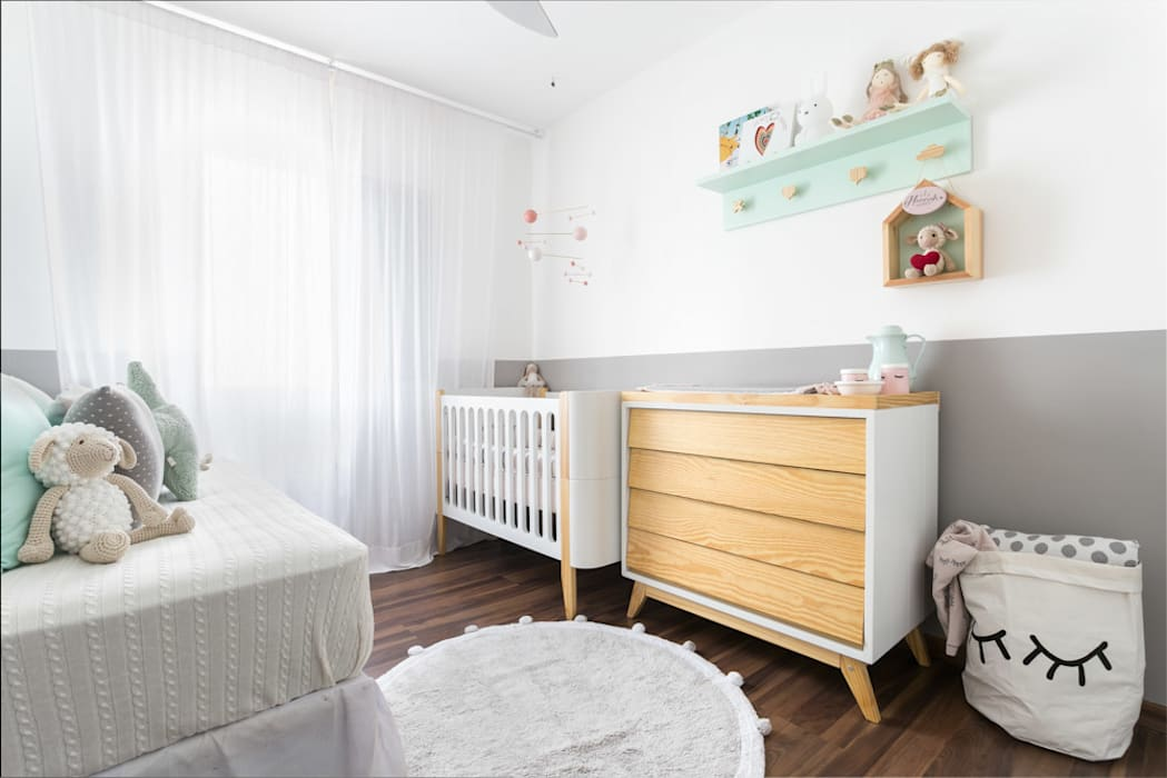 Habitaciones de niñas de estilo  de K Arquitetura