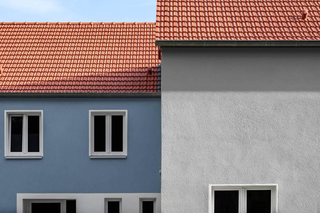 Spiel der Flächen:  Satteldach von Hilger Architekten