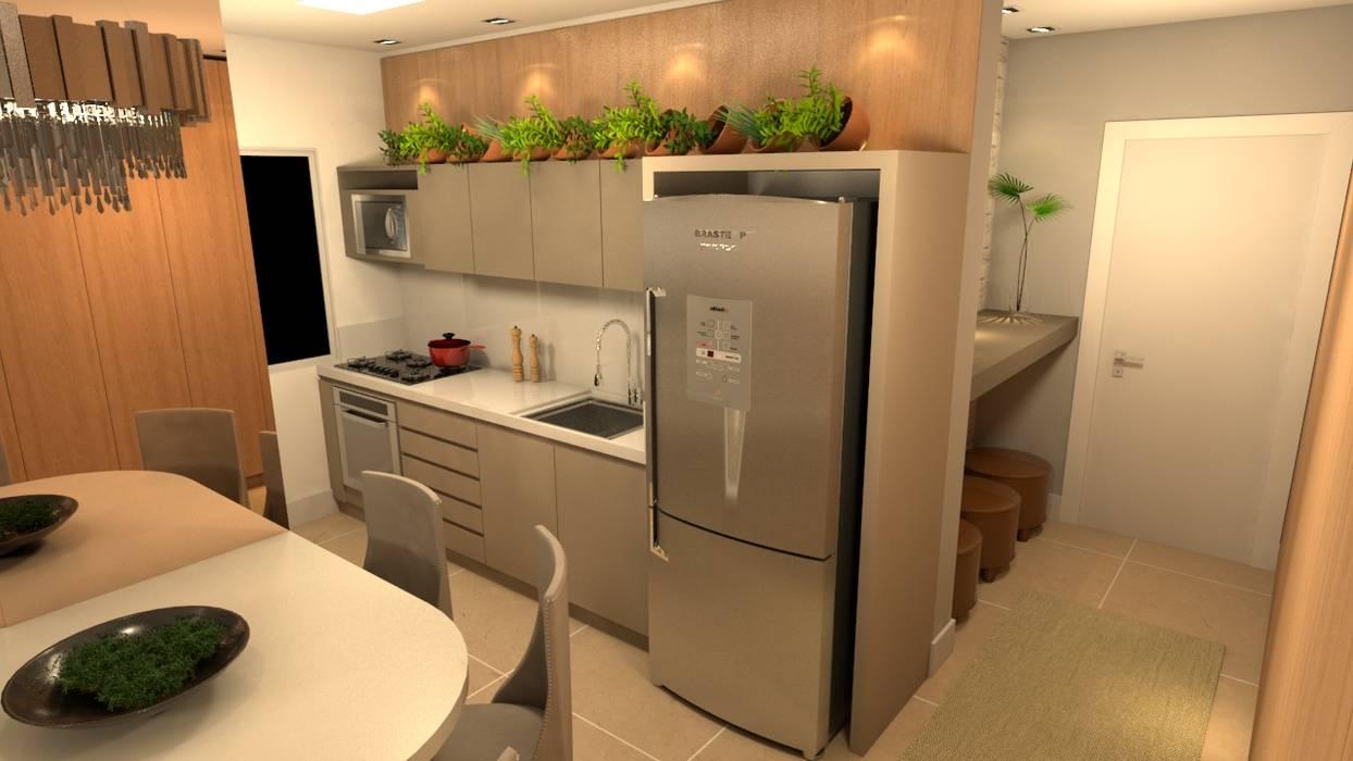 Dapur kecil  oleh Revisite, Modern