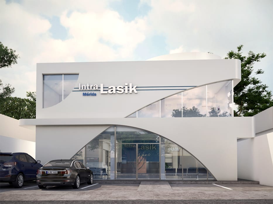 by Bauzen Arquitectura Modern Aluminium/Zinc