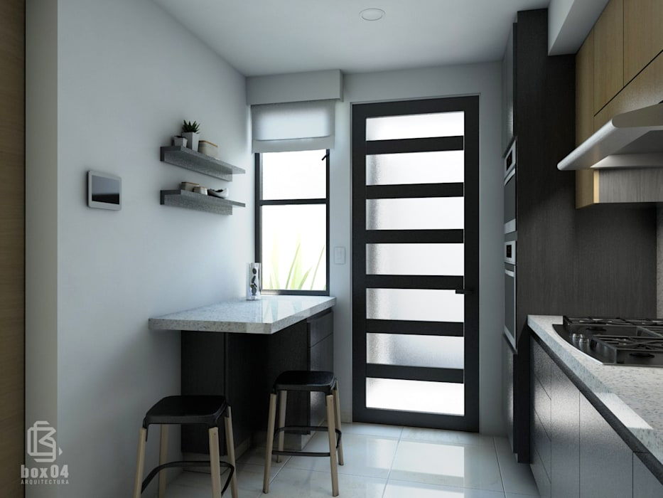 Kitchen by box04 ARQUITECTURA,