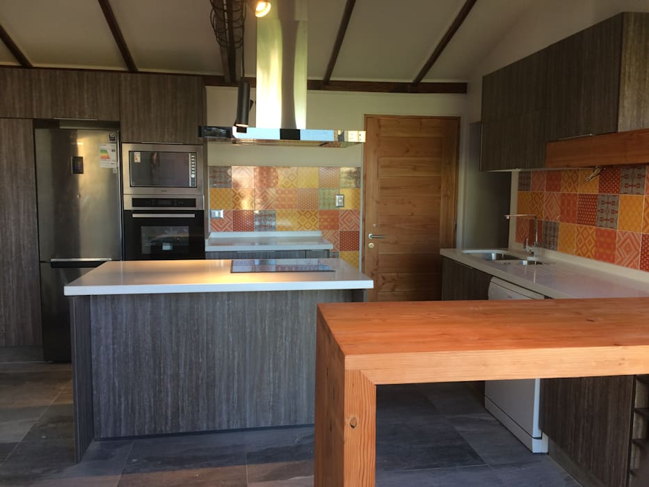 Cocina Latitud Sur Cocinas equipadas Madera Acabado en madera