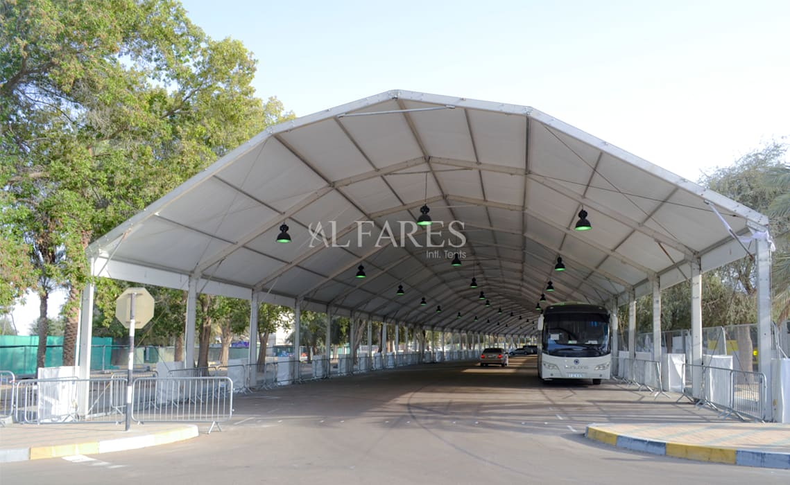 Majestic Tents By Al Fares Intl Tents Modern garage/shed by Al Fares International Tents Modern