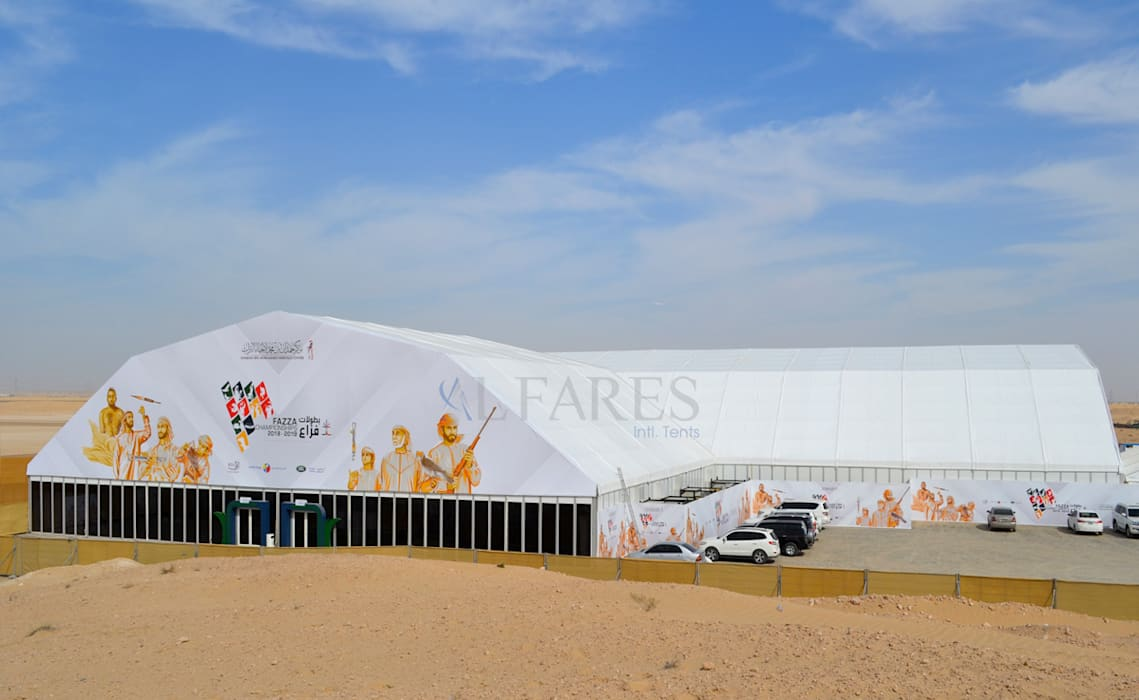 Majestic Tents By Al Fares Intl Tents:  Garage/shed by Al Fares International Tents