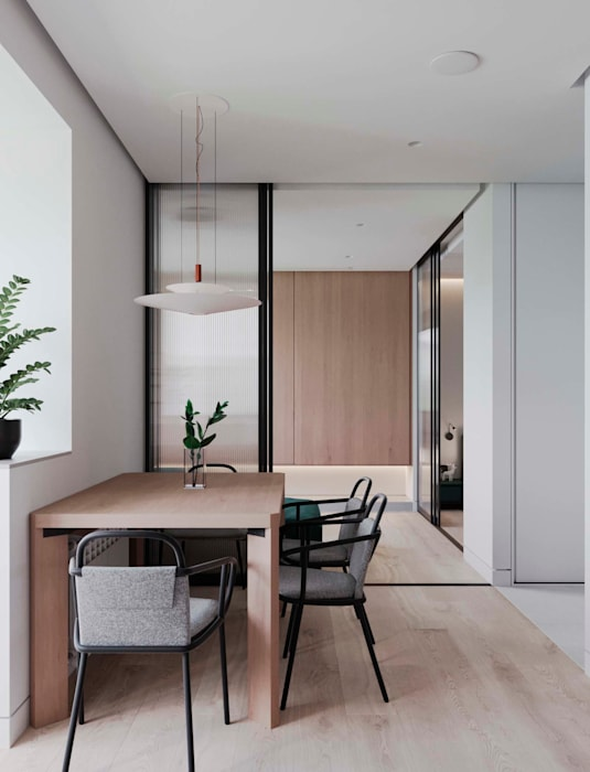 Render interior mesa de cocina : de estilo de proyecto 3d ...