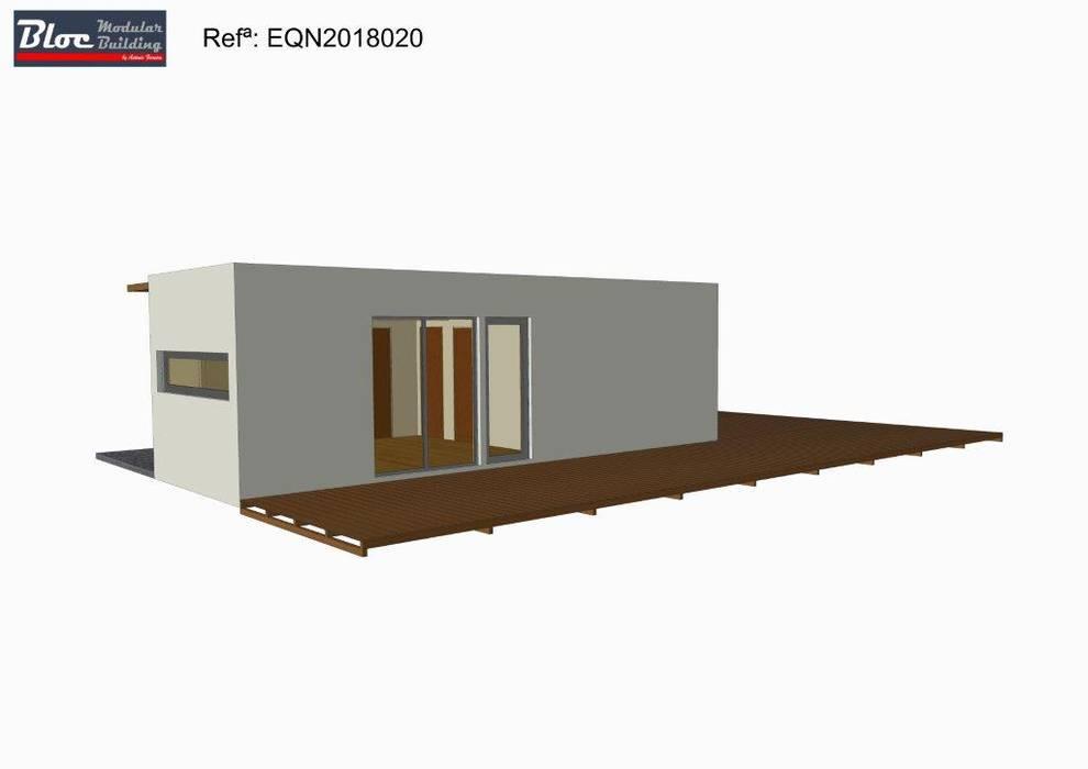 Casa Modular modelo BLOC LINEA T2 de 54 m2 por BLOC - Casas Modulares