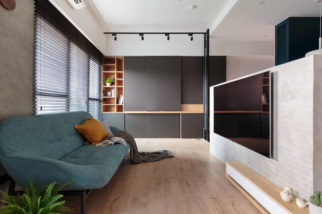 스칸디나비아 거실 by Moooi Design 驀翊設計 북유럽