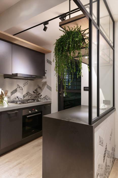 沉靜北歐宅:  廚房 by Moooi Design 驀翊設計, 北歐風