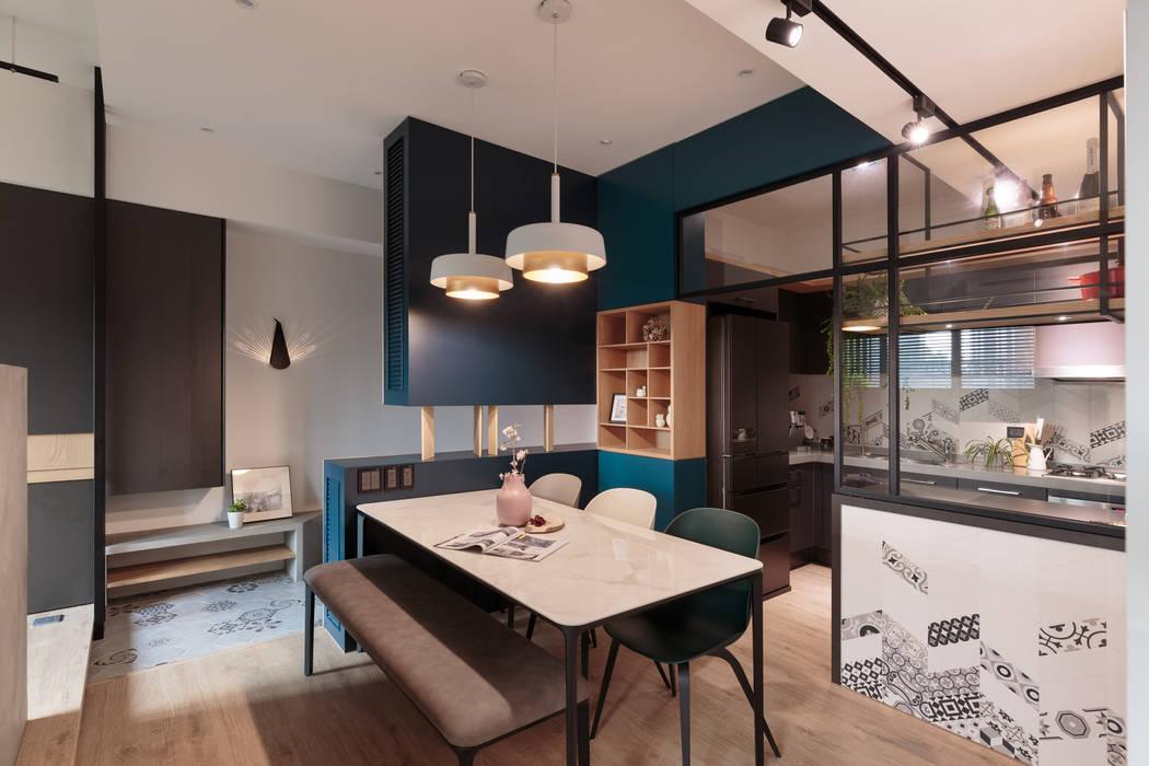 Scandinavian style dining room by Moooi Design 驀翊設計 Scandinavian