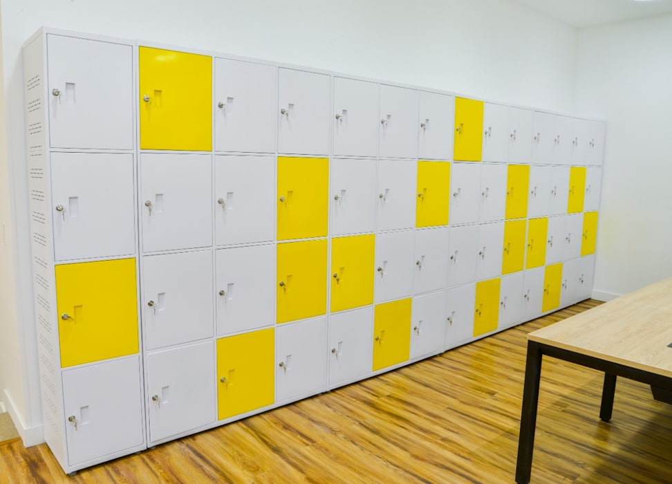 Oficina Coworkin Grupo Quick Estudios y despachos de estilo minimalista de Parámetro Arquitectura & Ingeniería Minimalista