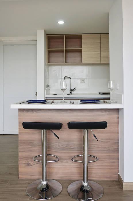 apartamento en Chia-Cundinamarca Comedores de estilo moderno de TikTAK ARQUITECTOS Moderno
