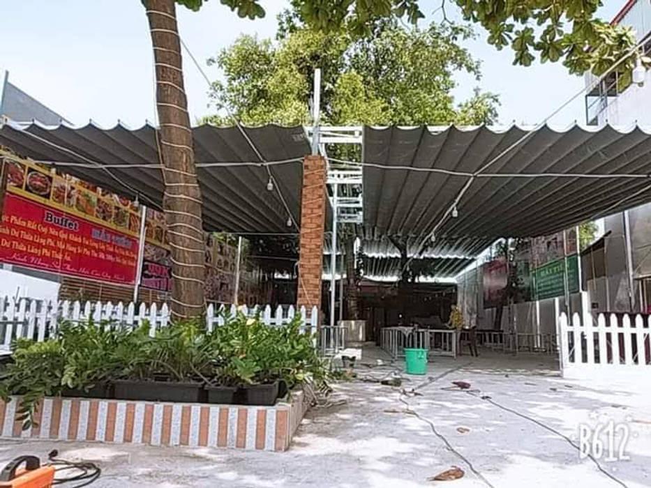 Garajes abiertos de estilo  de MAI HIEN DI DONG HA NOI 0945158931, Asiático