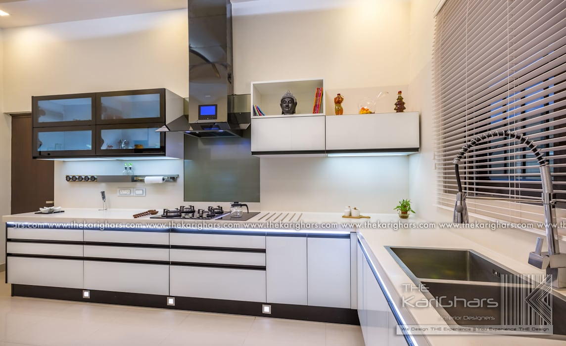 Kitchen Designs :  Kitchen units by The KariGhars,