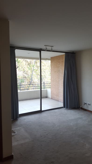 Constructora CYB Spa Modern living room