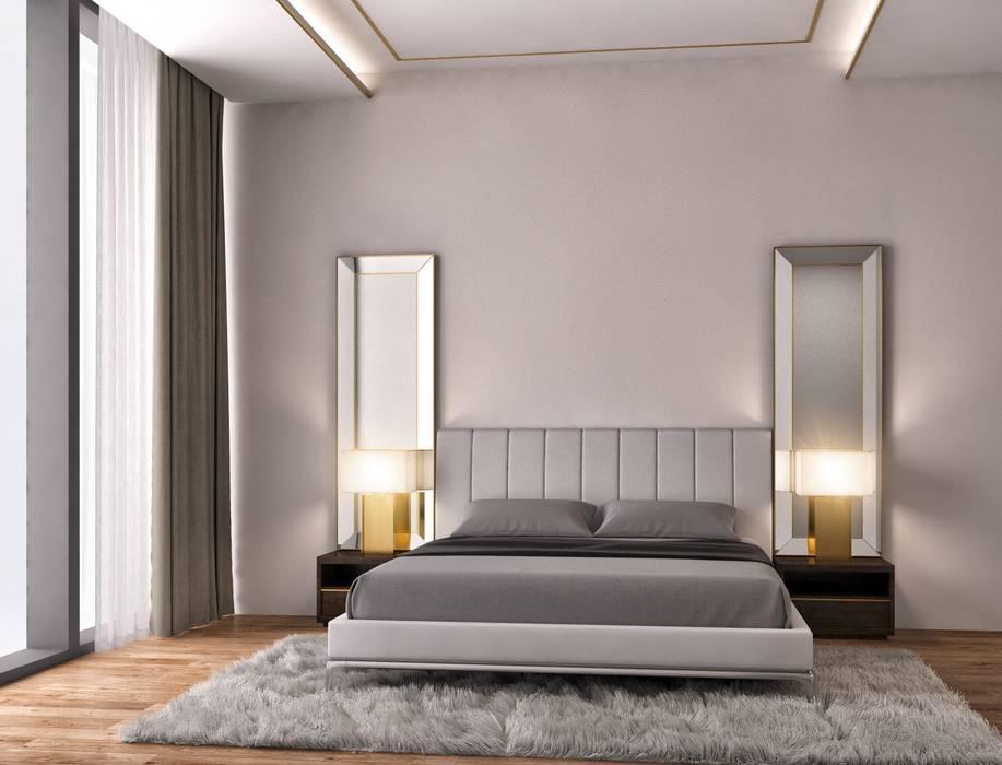 Minimalismo Design – Ebeveyn Yatak Odası:  tarz Yatak Odası