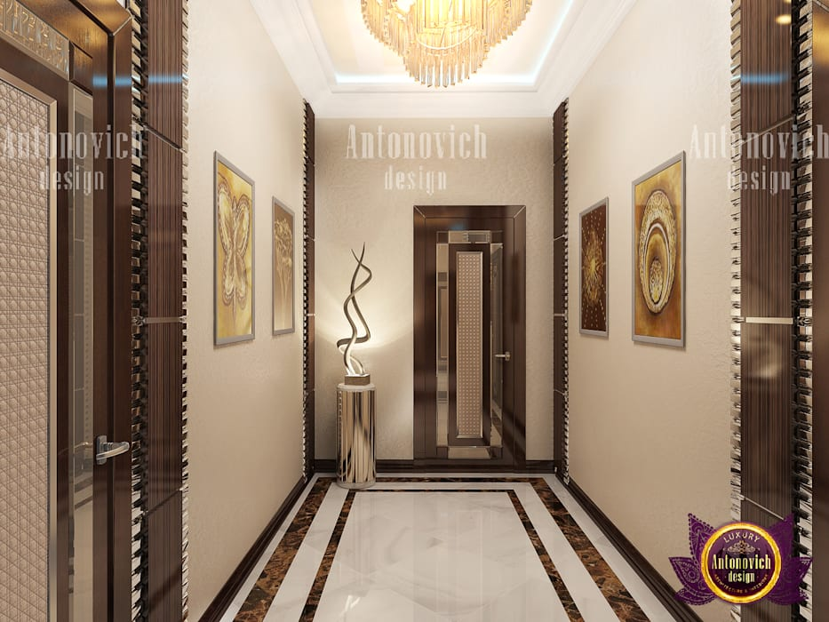 Door Decoration For Your Home's Security by Luxury Antonovich Design