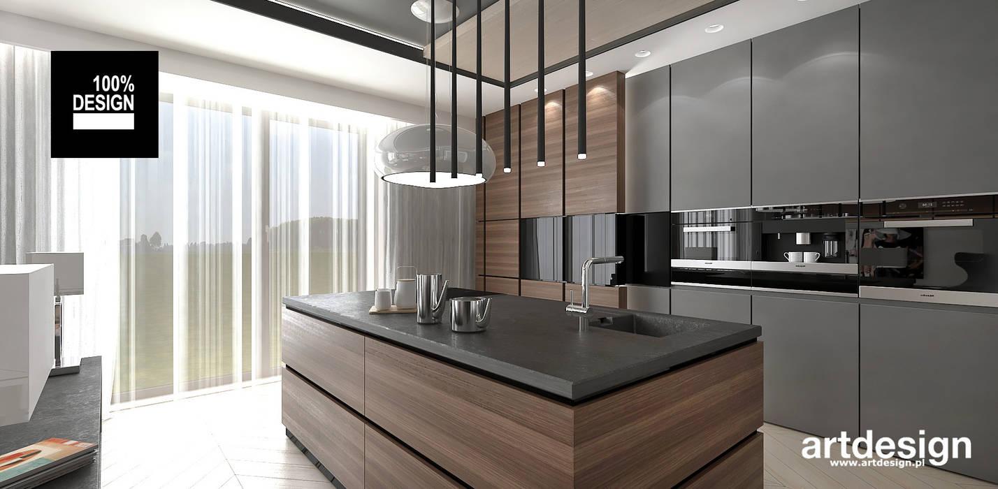trendy w projektowaniu kuchni: styl , w kategorii Kuchnia zaprojektowany przez ARTDESIGN architektura wnętrz,Nowoczesny