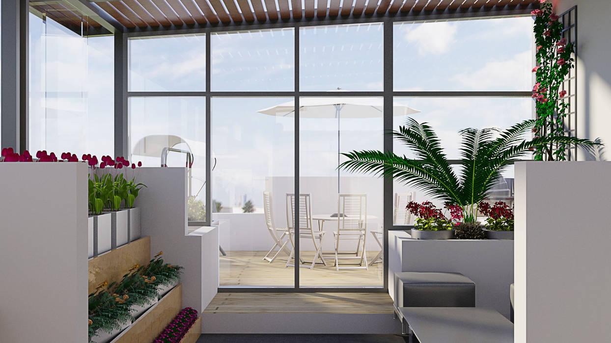 Proyecto De Ampliación Y Remodelación De Terraza En El