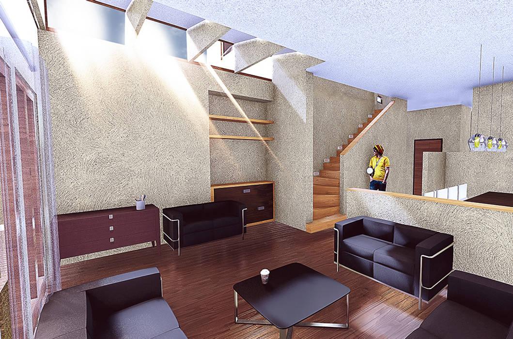 Living Livings de estilo moderno de RAS Arquitectos Moderno