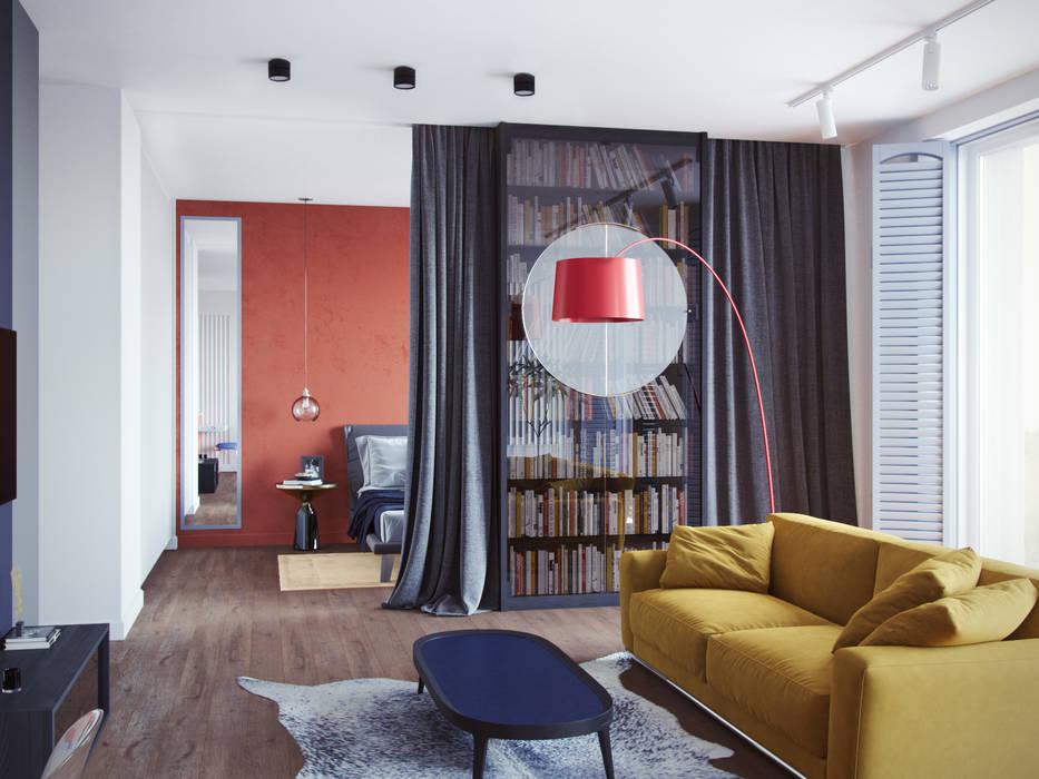 Ruang Keluarga Modern Oleh Дизайнер Фёдор Иванов Modern