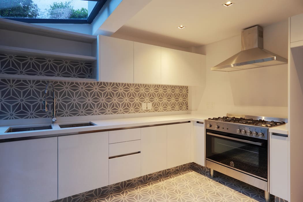 Cocina : Cocinas de estilo  por BACE arquitectos