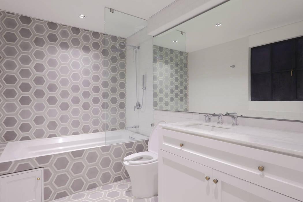 Baño principal Baños modernos de BACE arquitectos Moderno