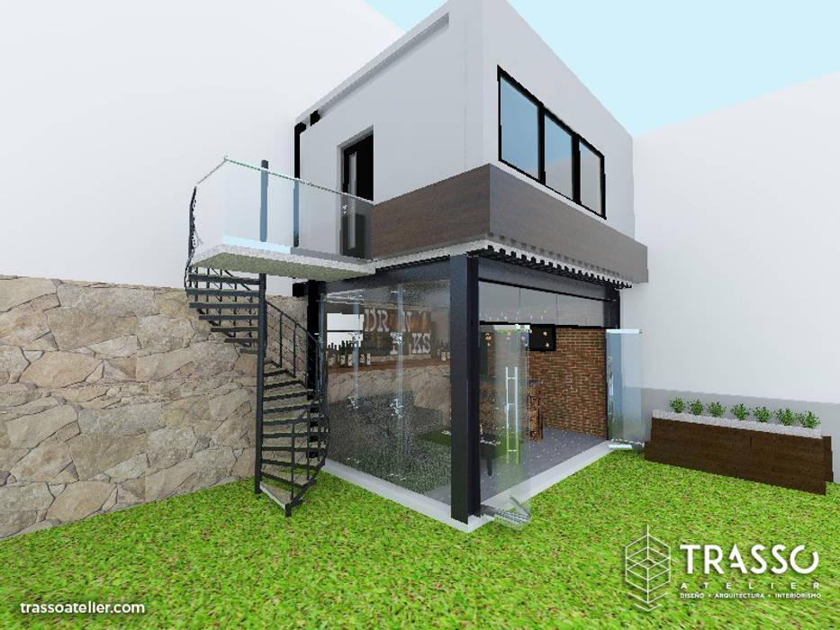 Projekty,  Budka ogrodowa zaprojektowane przez TRASSO ATELIER