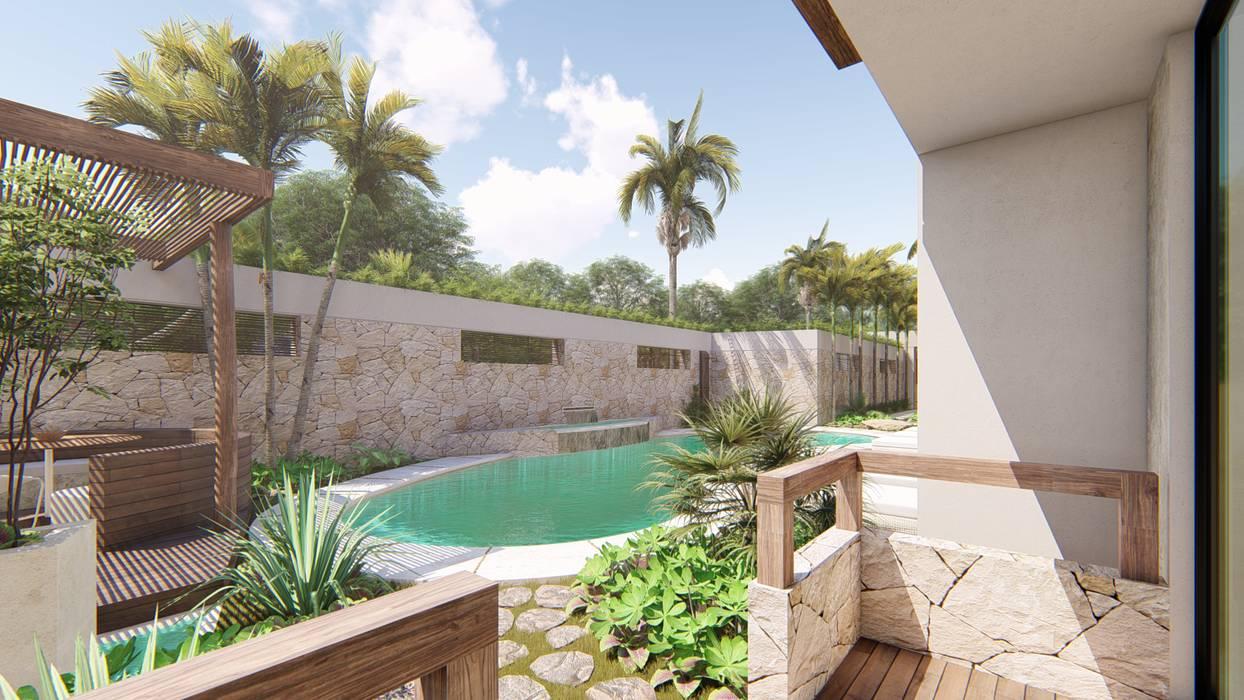 Garden Pool by ROEDI,
