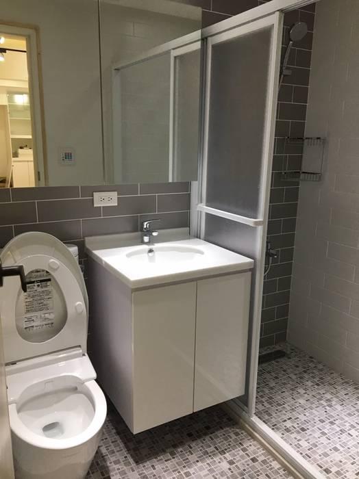 Bathroom by 捷士空間設計(省錢裝潢),
