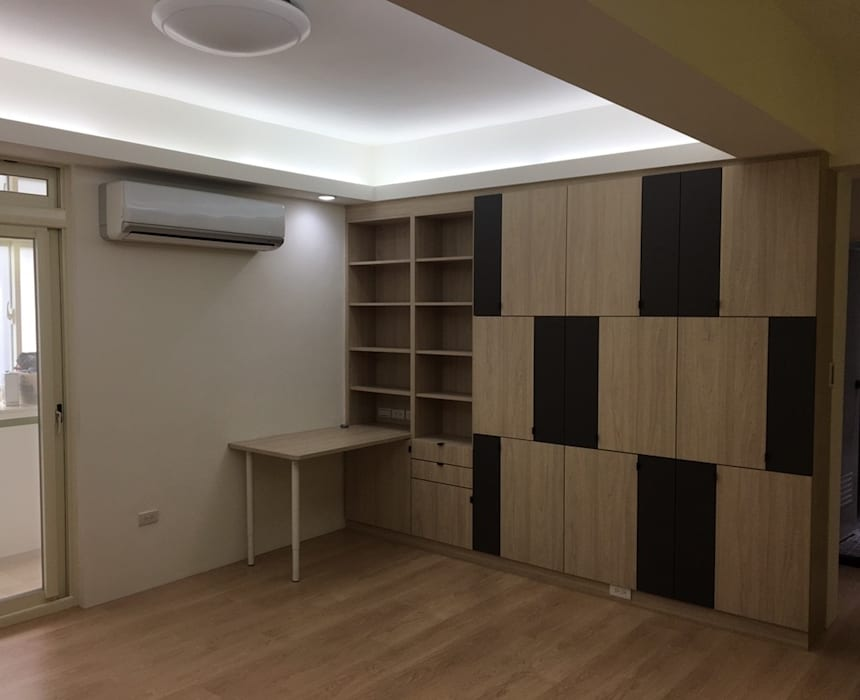 Study/office by 捷士空間設計(省錢裝潢)